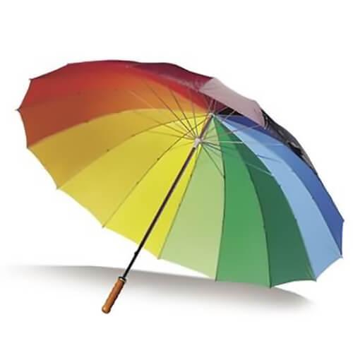 umbrela multicolora
