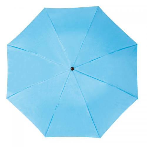 umbrela pliabila albastru deschis