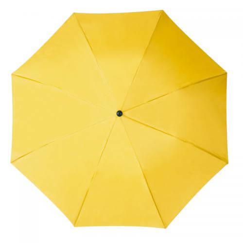 umbrela pliabila galbena